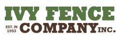 Ivy Fence Company logo