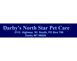 Darby's North Star Pet Care logo