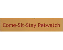 Come Sit Stay Petwatch logo