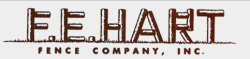 F. E. Hart Fence Company logo