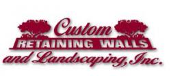 Custom Retaining Walls & Landscaping logo