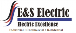 E & S Electric logo