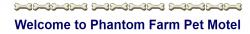 Phantom Farm Pet Motel logo
