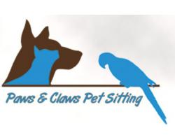 Paws & Claws Pet Sitting logo