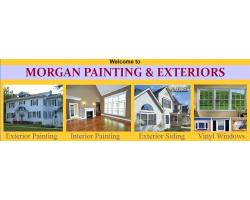 Morgan Painting & Exteriors logo