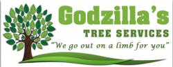 Godzilla's Tree Service logo