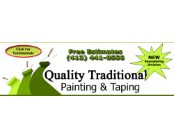 Quality Traditional Painting And Remodeling logo