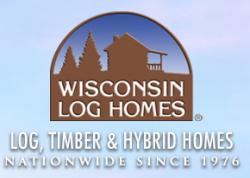 Wisconsin Log Homes logo