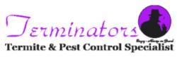 Terminators Pest Control logo