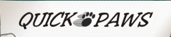 Quick Paws Hiking Co logo