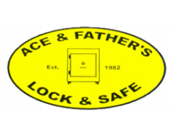 Ace & Father Lock & Safe Co. logo