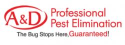 A&d Pest Elimination logo
