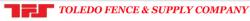 Toledo Fence & Supply Company logo