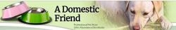 A Domestic Friend logo