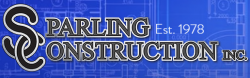 Sparling Construction logo