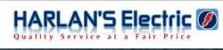 Harlan's Electric logo