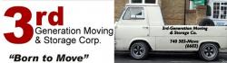 3rd Generation Moving & Storage Corp. logo