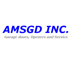 AMS Garage Doors logo