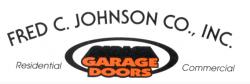 Fred C Johnson Garage Doors logo