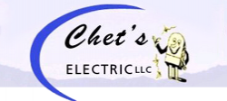 Chet's Electric logo