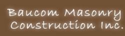 Baucom Masonry logo
