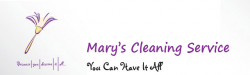 MARY'S CLEANING SERVICE logo