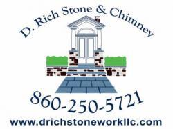 D. Rich Stonework logo