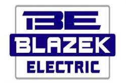 Blazek Electric, Inc. logo