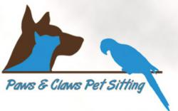 Paws & Claws Pet Sitting logo