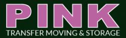 Pink Transfer Moving & Storage logo