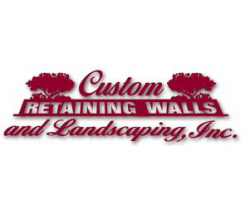Custom Retaining Walls & Landscaping logo