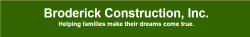 Broderick Construction, Inc. logo