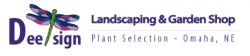 DEE-SIGN garden shop + landscaping logo