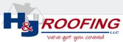 H&J Roofing logo
