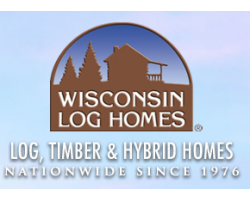 Wisconsin Log Homes logo