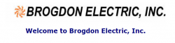 Brogdon Electric, Inc. logo