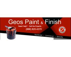 Geo's Paint & Finish logo