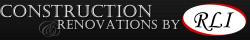 Construction & Renovations by RLI logo