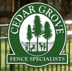 Cedar Grove Fence logo