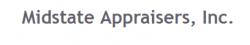 Midstate Appraisers logo