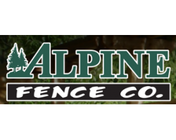 Alpine Fence Co. logo
