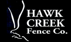Hawk Creek Fence Co. logo