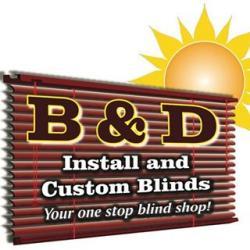 B&D Install & Blind Repair logo