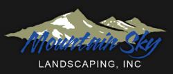Mountain Sky Landscaping logo