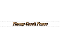 Tincup Creek Fence logo