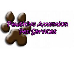 Pawsitive Attention Pet Services logo