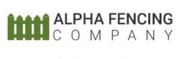 Alpha Fencing Company logo
