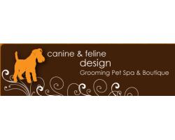 Canine And Feline Design logo