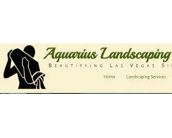 Aquarius Landscaping logo