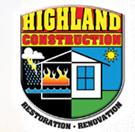 Highland Construction logo